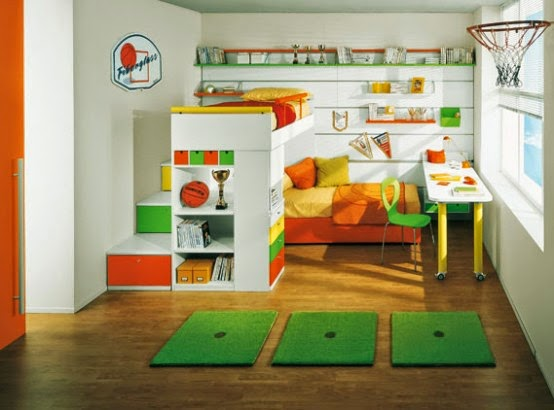 Kids Rooms universal designs ideas