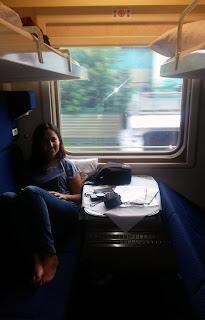 Compartimento en clase Kupé (2ª), transiberiano 2015