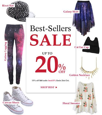 Romwe Best Seller sale