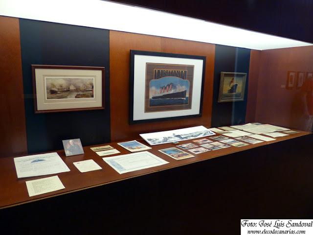 Fotografías de la exposición naviera Cunard