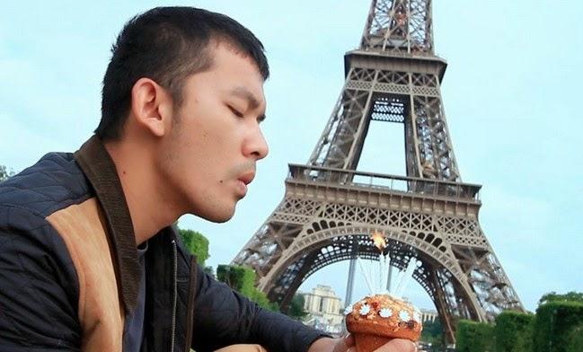 kata romantis Love in Paris