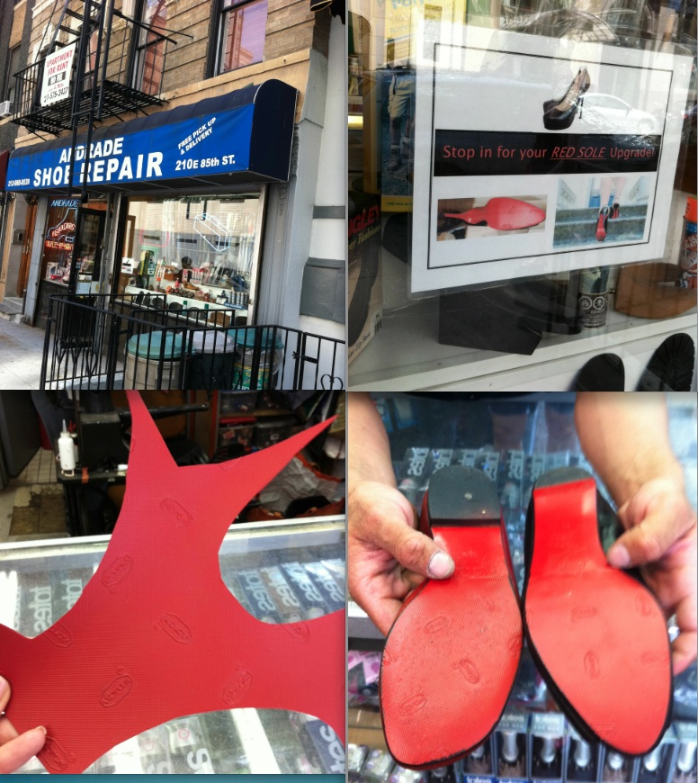 Madison Avenue Spy: Upgrading Your Heels Louboutin Red