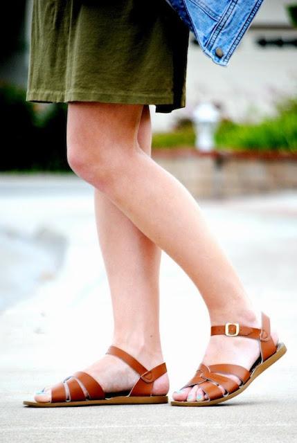 Saltwater Sandals on Current Habits
