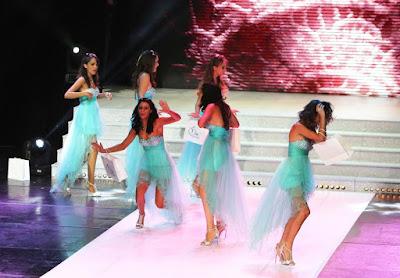 Miss Réunion : la soirée des chutes