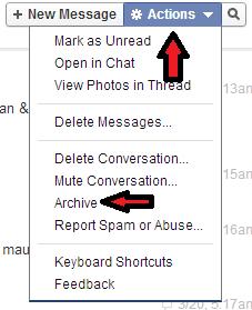 Dapatkan Pesan Chat FB Telah Dihapus