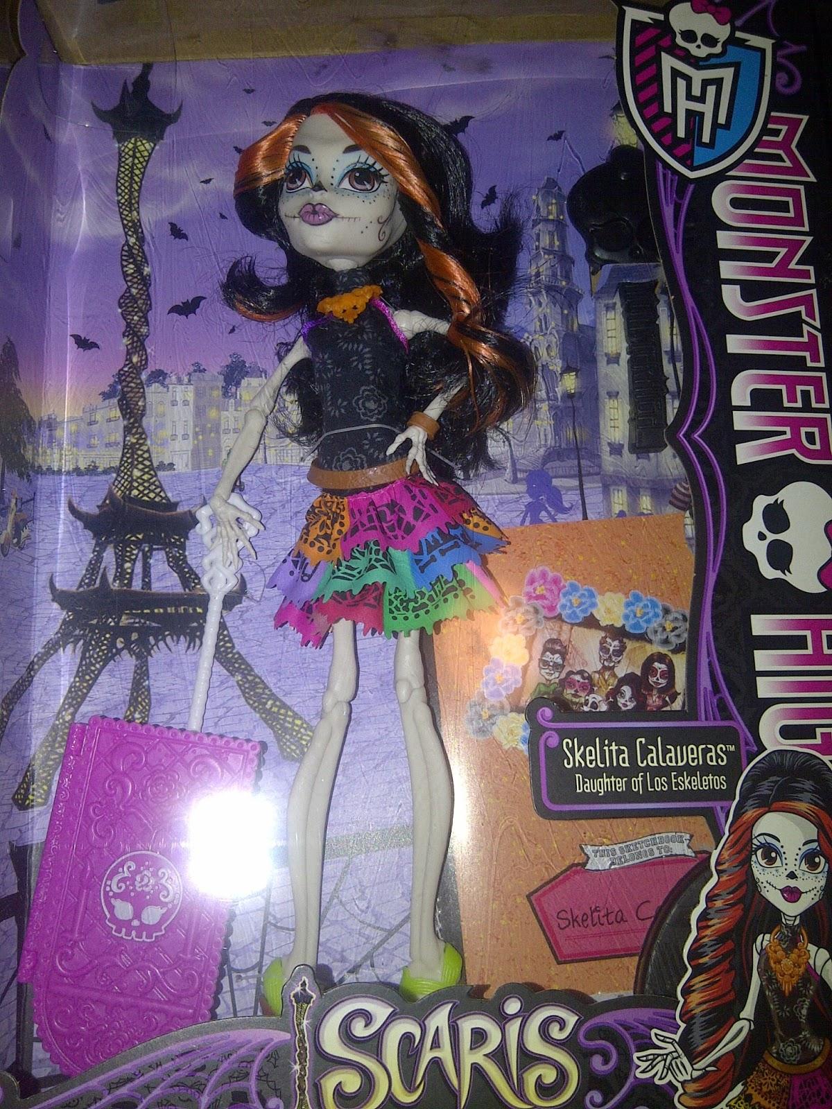 Monster High Guide Skelita Calaveras