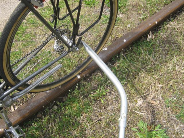 Rail Bike: bicicleta anda sobre trilhos
