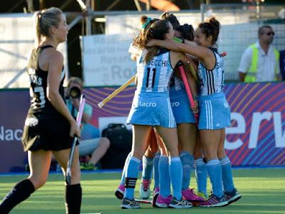 HOCKEY HIERBA - Fase Final de la Liga Mundial femenina 2015 (Rosario, Argentina): Argentina golea en casa para ser campeón mundial