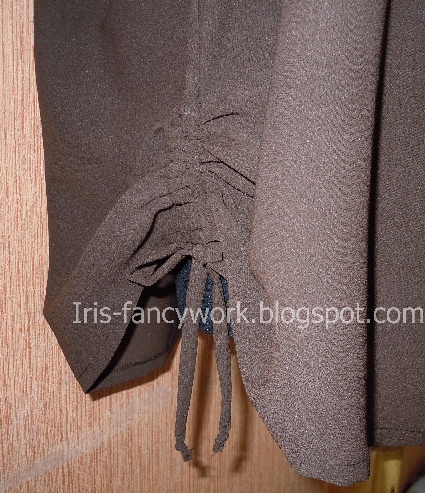 Блузка на резинке на горловине