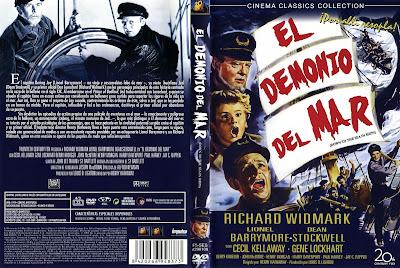 Cine Clasico | El demonio del mar (1949) | Caratula | cartel | Pelicula