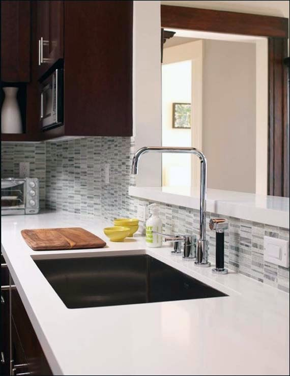 Affordable Countertop Materials : ... Surfacing Countertop - another option for cheap countertop material
