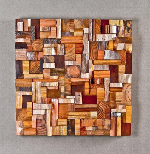 EcoNotas.com: Obras de Arte con Pedazos Madera, Cuadros Reciclados ...