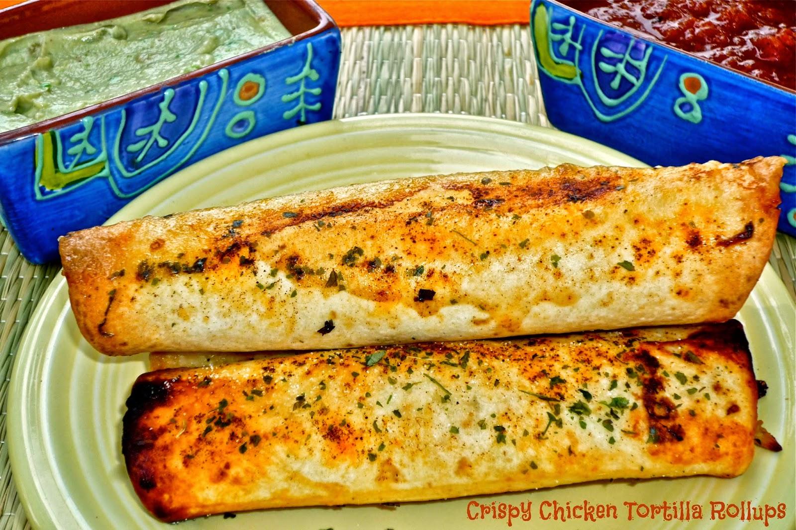 ... Weekend Gourmet: Crispy Chicken Tortilla Rollups for #WeekdaySupper