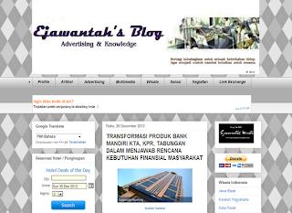 Ejawantah's Blog