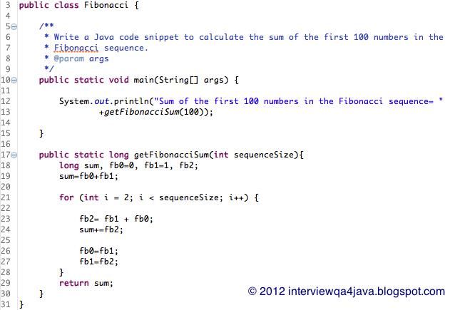 How to write java