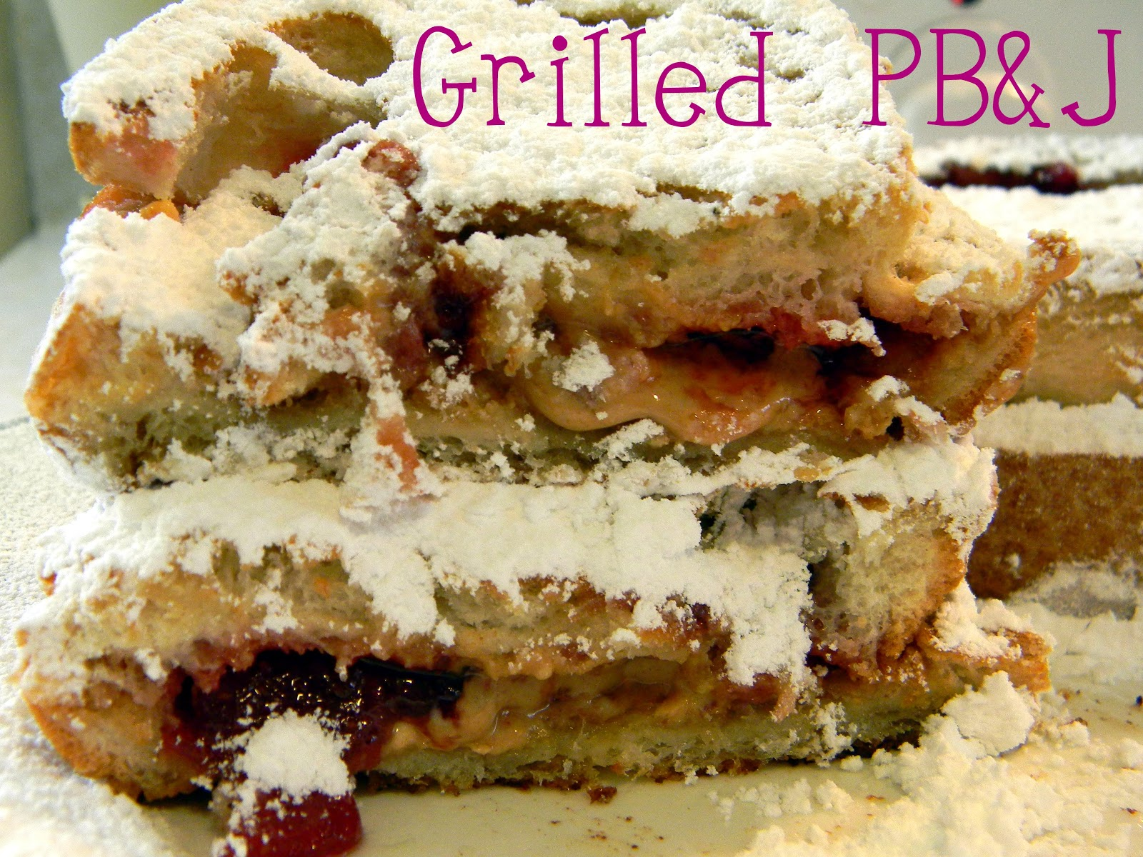 freaked out 'n small: Grilled Peanut Butter and Jelly Sandwich