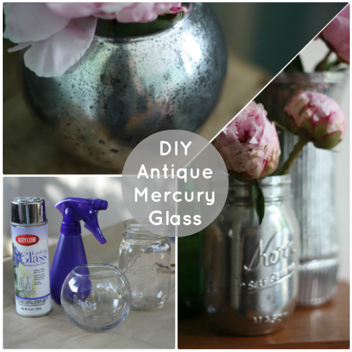 How To Diy Antiqued Mercury Mirror Glass 17 Apart