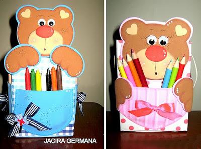 caixinha com reciclagem de caixa de leite para dia das crianças