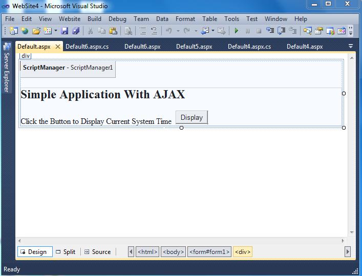 asp net ajax tutorial pdf