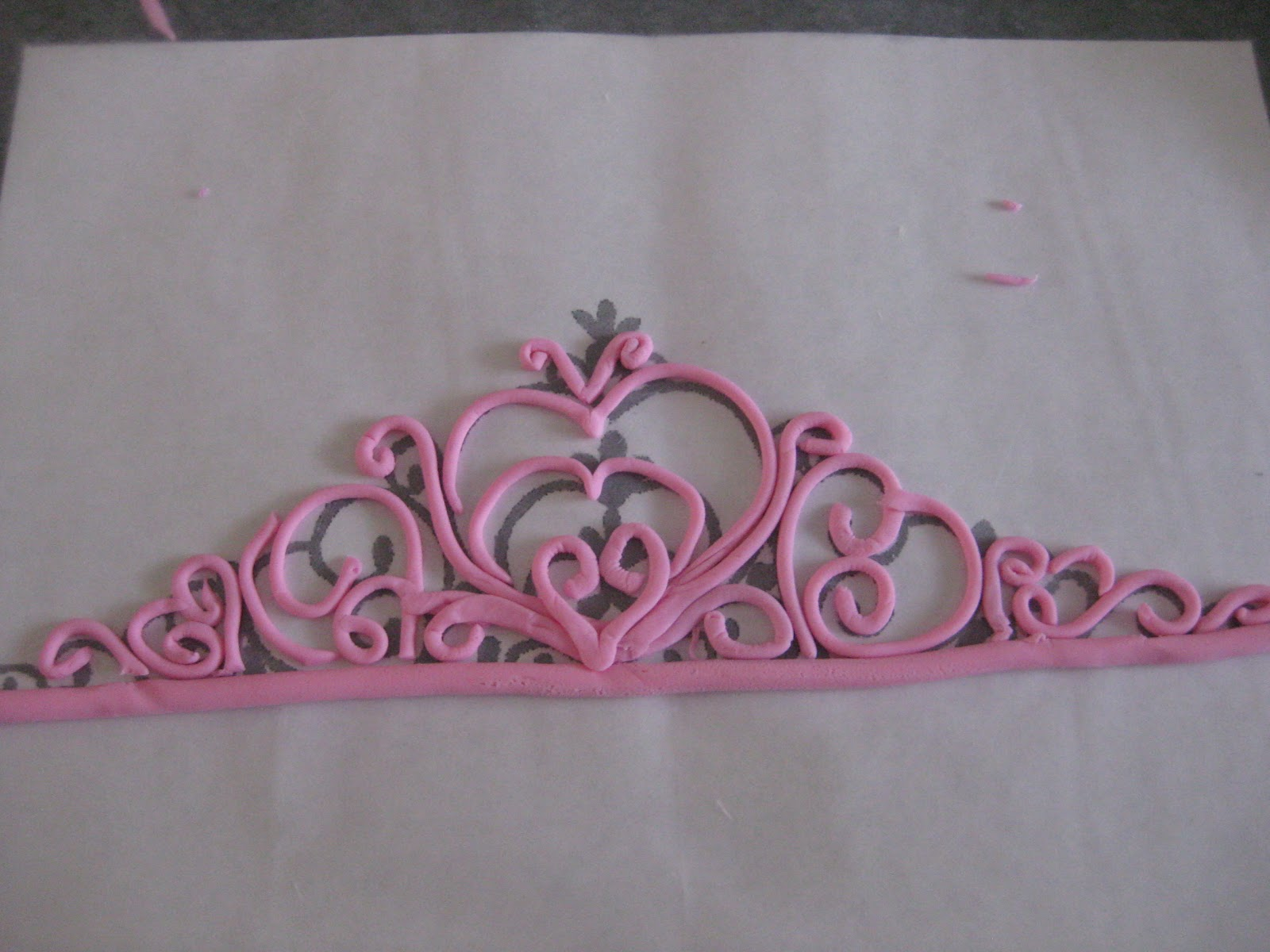 Peace, Love, & Cake: Princess Tiara Tutorial