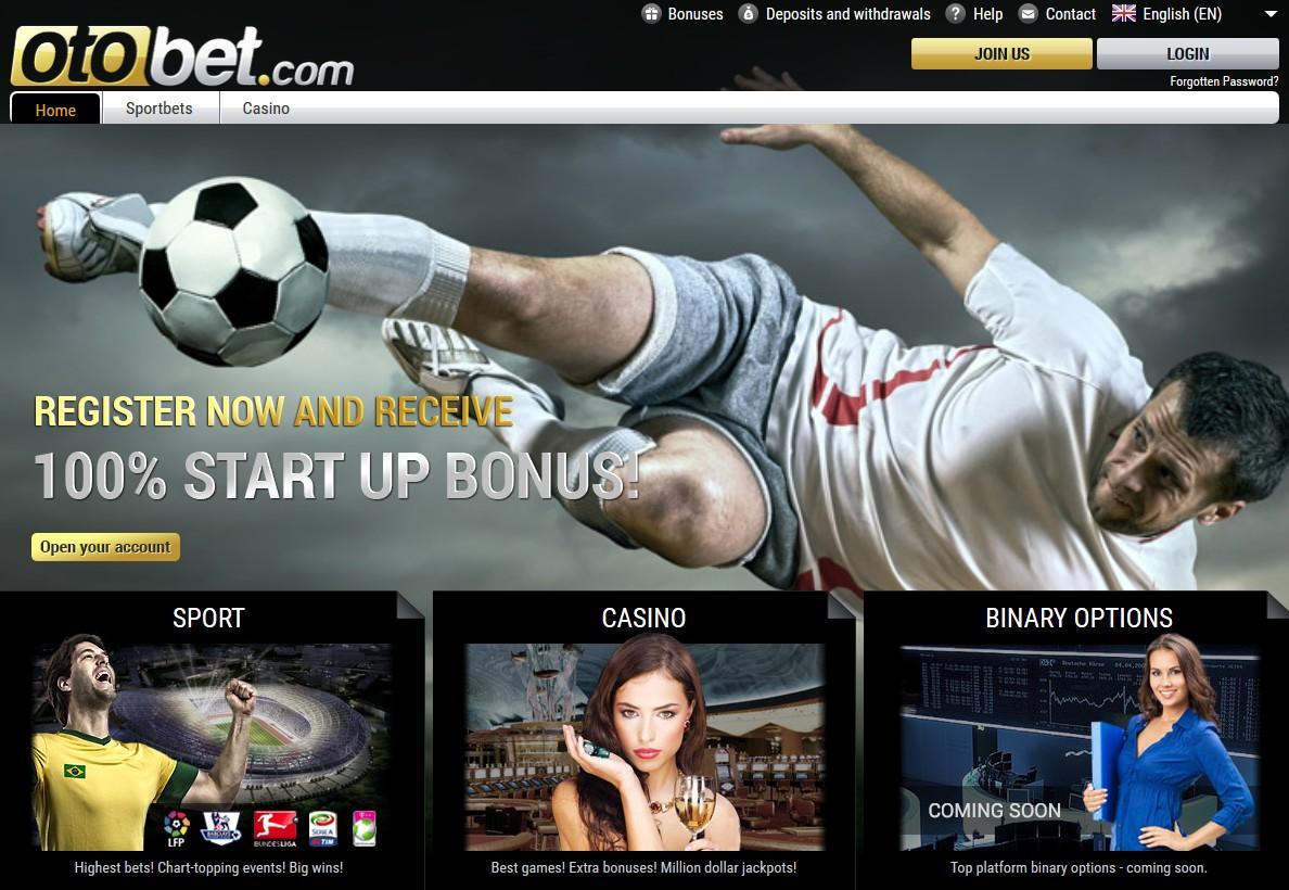 Otobet Promotions Screen
