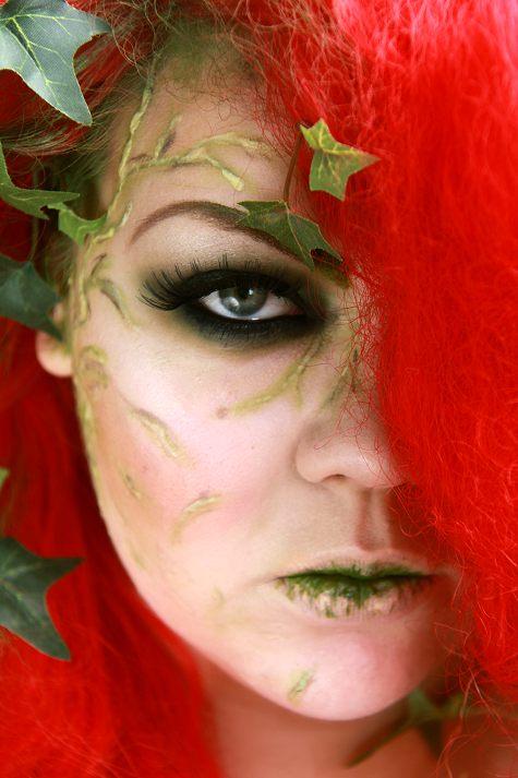 Poison ivy makeup