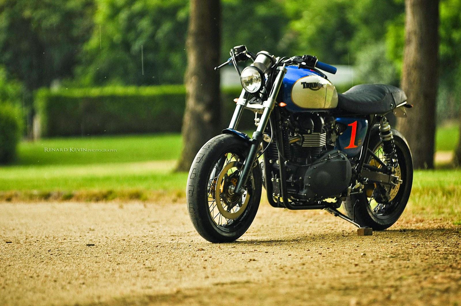 Racing Caf U00e8  Triumph Thruxton Dirt Track By Fcr Original