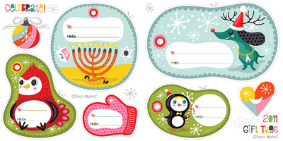 ... Labels printable holiday gift tags galore—all free! how about orange