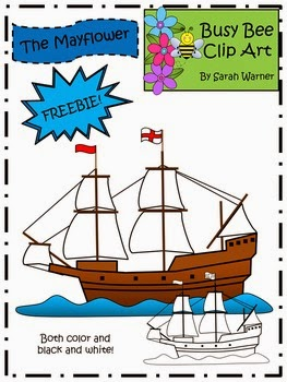 Mayflower Clip Art Freebie