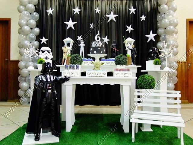 Decoração Star Wars Porto Alegre Guerra nas Estrelas