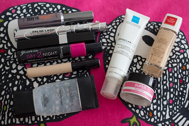 products i've used up 6