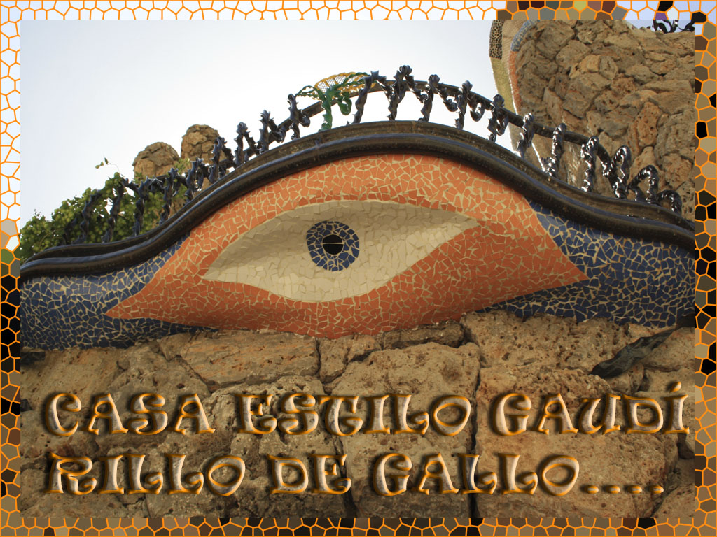 El Estilo Gaud Embellece El Pueblo De Rillo De Gallo De  # Muebles Gaudi Guadalajara