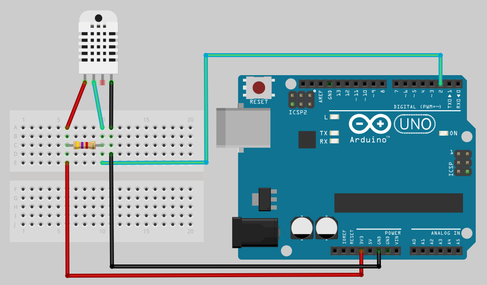 Arduino Tutorial - How to use DHT11 and DHT22 sensors