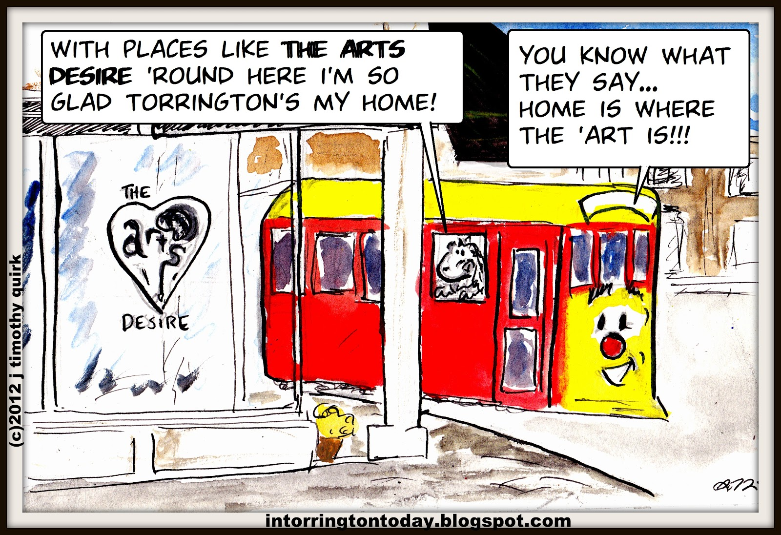 Home is where the 39 art is the arts desire in torrington for Michaels crafts torrington ct
