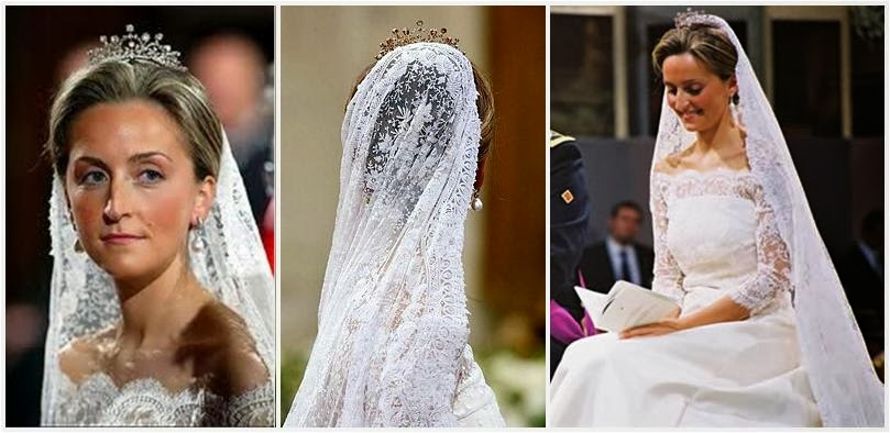 The Royal Order Of Sartorial Splendor: Top 10 Best Royal Wedding Dresses:  #9. HRH Princess Claire