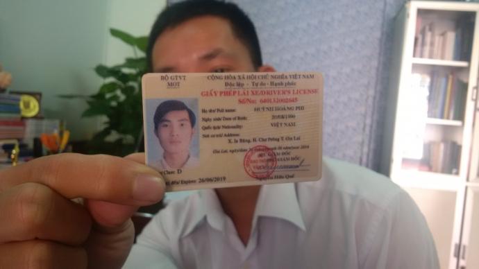 Gia Lai: Phát hiện giấy phép lái xe làm giả tinh vi bằng vật liệu PET