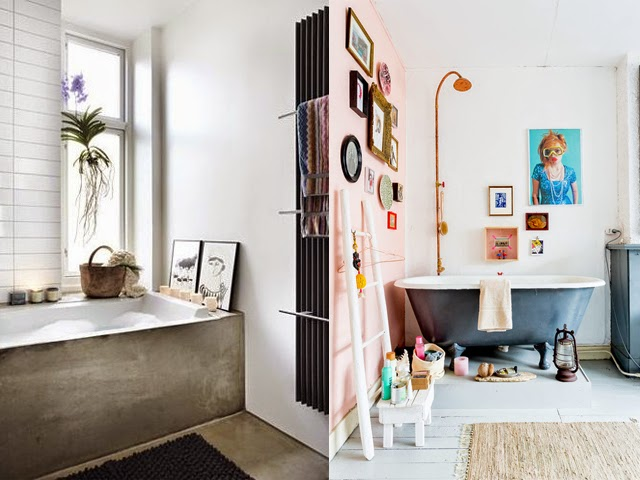 Lovers of mint blog d co boh me et cool lifestyle for Sdb deco
