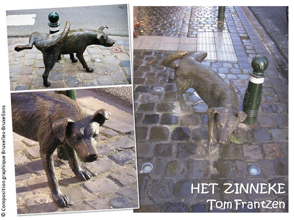HET ZINNEKE - Sculpture de rue de Tom Frantzen - Bruxelles-Bruxellons