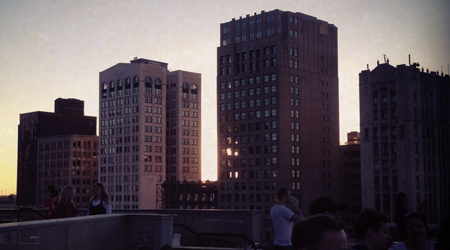 Detroit Rooftop Parties do exist.