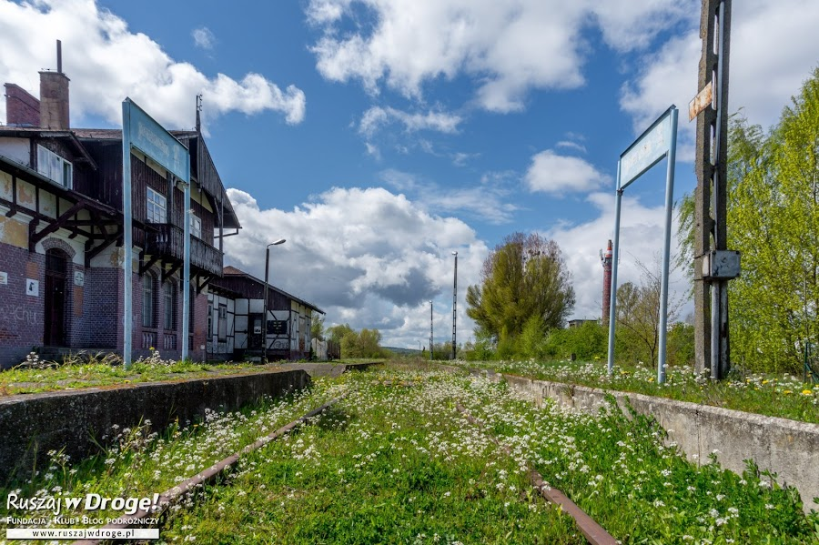 Stacja nieczynnej kolejki nadzalewowej w Tolkmicku