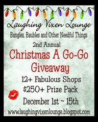 2nd Annual Christmas A Go-Go Giveaway ~ December 1-15