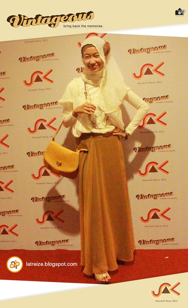 Latreizecha Vintage Hijab Style