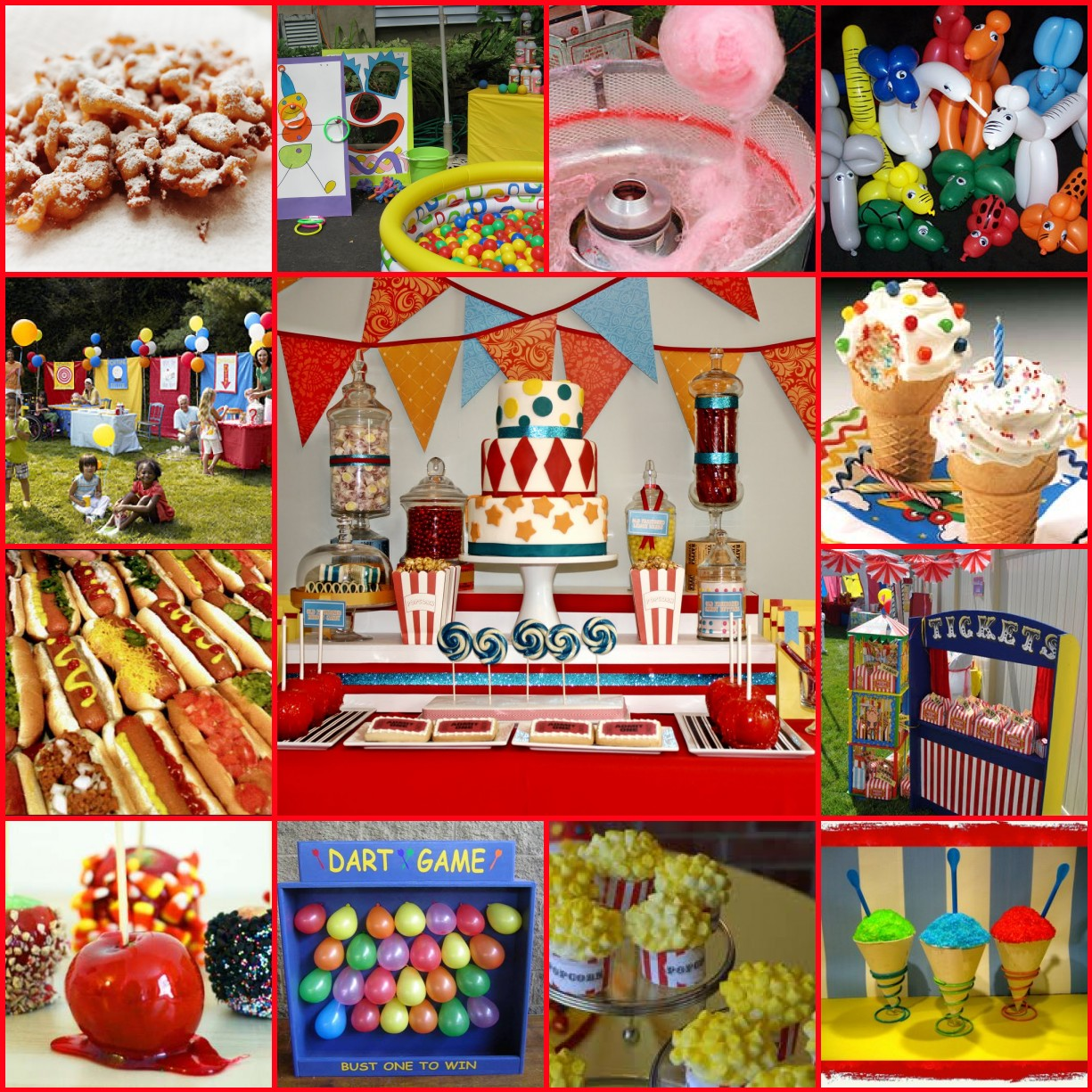Carnival Decoration Ideas