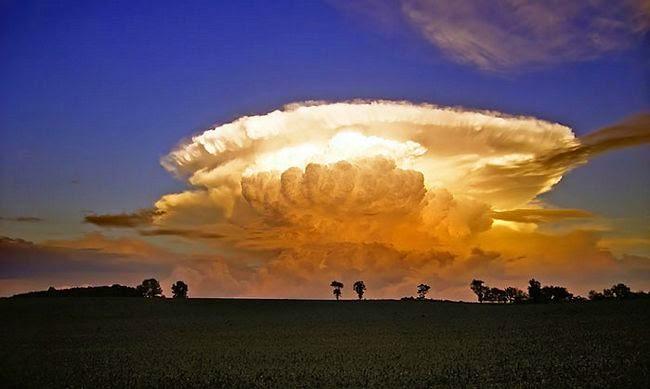 18 nuvens que parecem outra coisa