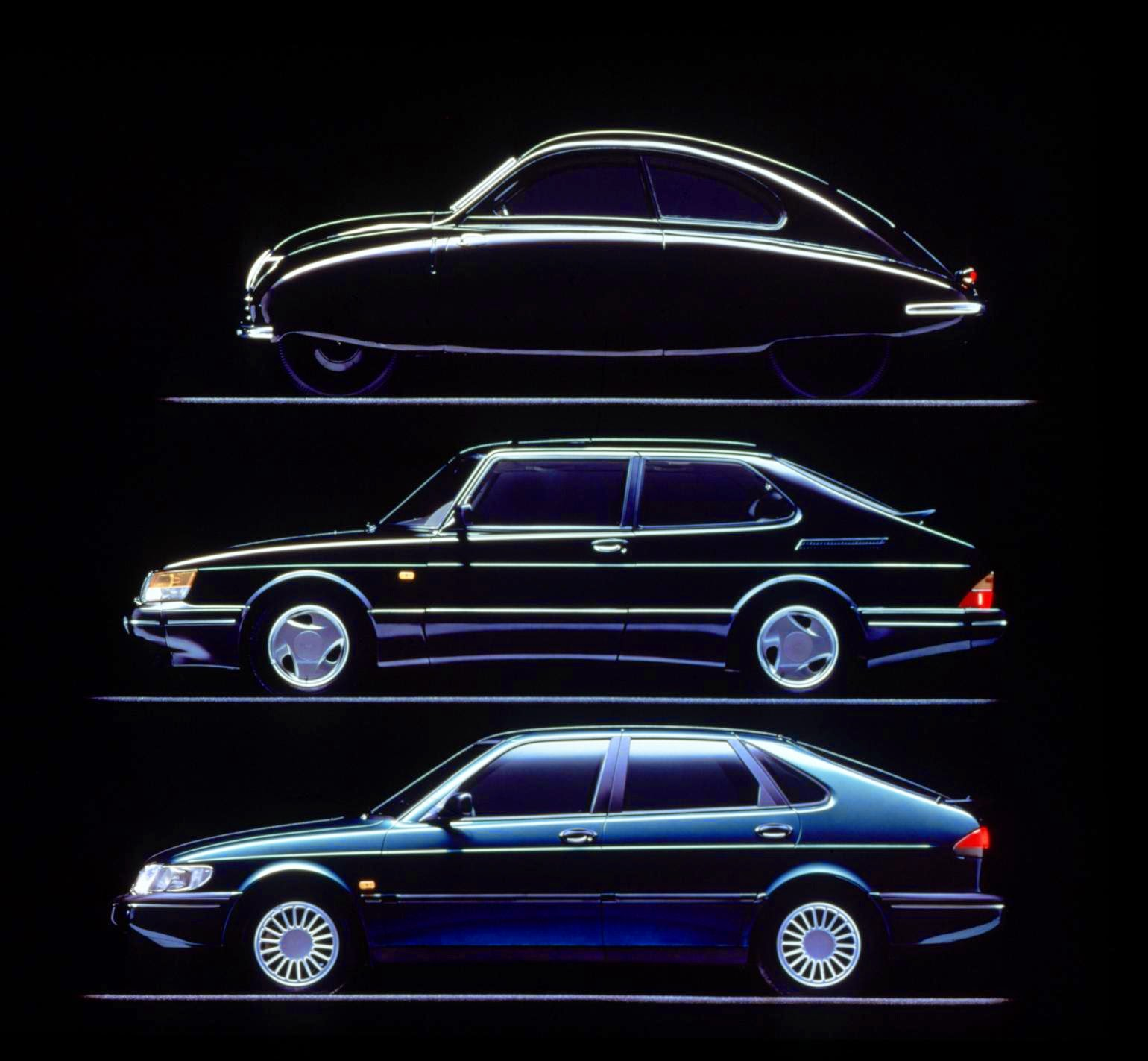 Saab 900 design evolution