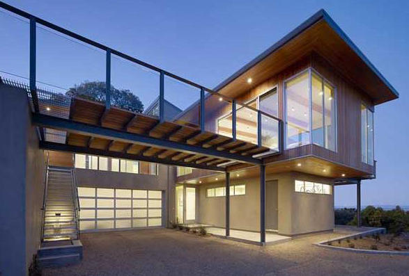 LEED Platinum Home in Tiburon Bay House : San Francisco
