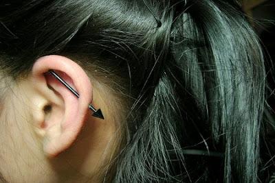 Piercing Transversal Feminino