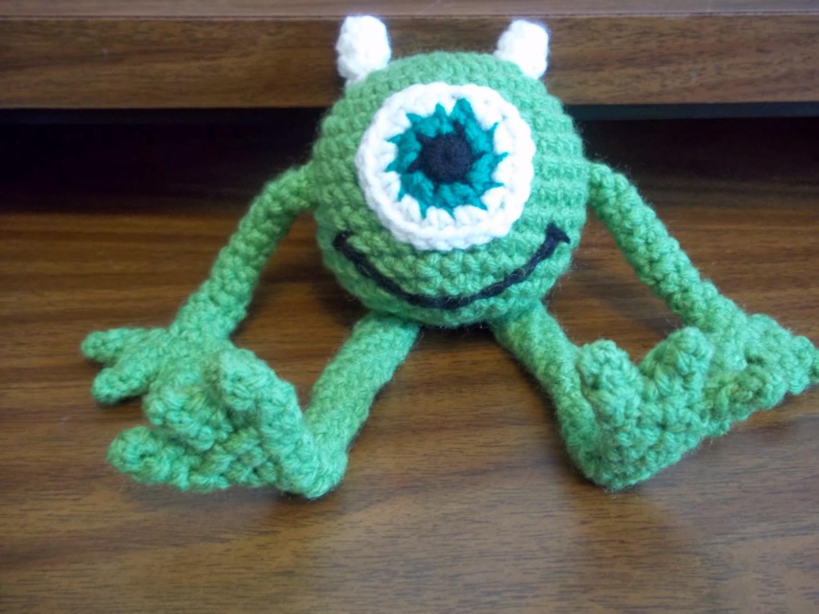 Amigurumi Monster Crochet : Eden is only a dream away: Crochet Monster Amigurumi Number 2