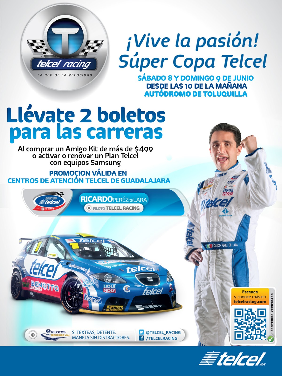 Global publicidad super copa telcel boletos gratis for Super copo