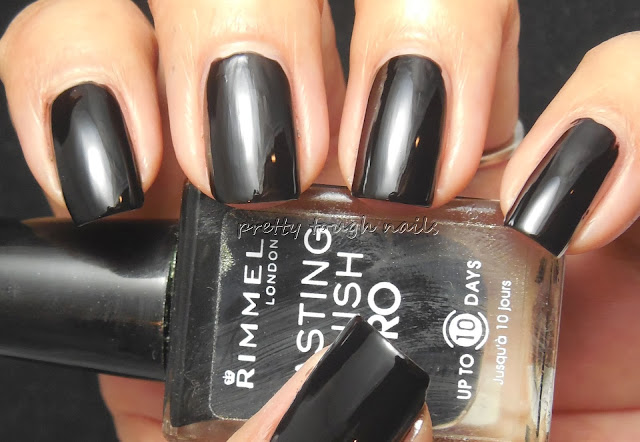 Rimmel Black Satin